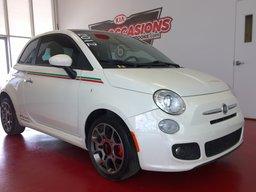 Fiat 500 2012 Sport ** TOIT OUVRANT / A/C ** LA TOUCHE ITALIENNE
