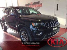 Jeep Grand Cherokee 2014 Limited ** CUIR / TOIT OUVRANT ** CAMERA DE RECUL - SIEGES CHAUFFANTS