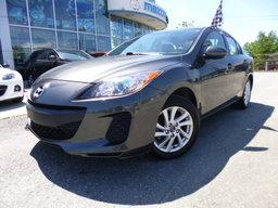 Mazda Mazda3 2013 GS, Skyactiv, Auto 6 vitesses, Sièges chauffants GS, Sky, Auto, Bluetooth...