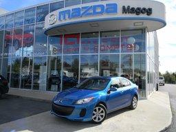 Mazda 3 2013 GX, AUTOMATIQUE, AIR CLIMATISÉ AUTOMATIQUE