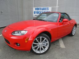 2007 Mazda MX-5 GS EXTRA PROPRE FREINS NEUF BAS MILAGE MANUELLE 6 VITESSES