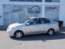 Chevrolet Aveo LT 2009 INSPECTÉ