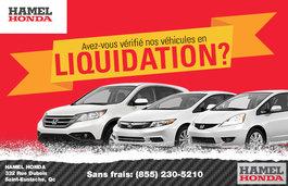 Avez-vous vérifié nos véhicules en Liquidation? (Page d'Occasion)