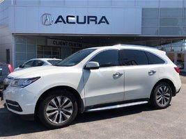 2015 Acura MDX NAVI   NEWBRAKES   OFFLEASE   ROOFRACK   RUN.BRDS
