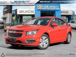 2015 Chevrolet Cruze 29,636KM 1LT
