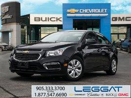 2015 Chevrolet Cruze LT/SUNROOF/REAR CAMERA