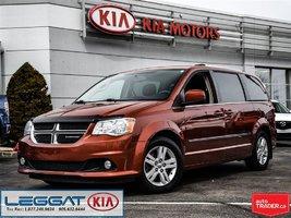 2012 Dodge Grand Caravan Crew - Heated Wheel & Seats, Rear Cam, Bluetooth