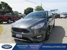 2015 Ford Focus SE  SPORT PKG, LOW LOW KMS, SYNC!!!
