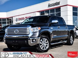 2017 Toyota Tundra Limited CREWCAB 5.7L V8 4X4 ONLY 23224 KMS!