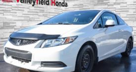 2013 Honda Civic Cpe EX AUTO TOIT MAGS CRUISE BLUETOOTH A/C