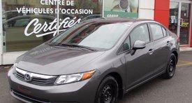 2012 Honda Civic Sdn LX//PNEUS HIVER SUR ROUES//47.13/SEM