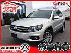 Volkswagen Tiguan HIGHLINE+AUCUN CARPROOF+53,642KM+TOIT+CUIR+ 2014