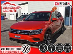 2018 Volkswagen Tiguan HIGHLINE+8 PNEUS INCLUS+AIDE À LA CONDUITE+