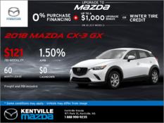 Mazda - 2018 Mazda CX-3 GX -- Drive it Home Today!