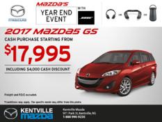 Mazda - Get the 2017 Mazda5 Today!