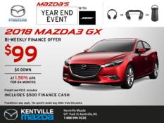 Mazda - Get the 2018 Mazda3 Today!