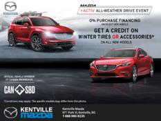 Mazda - Mazda i-ACTIV All-Weather Drive Event