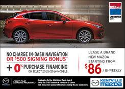Mazda - Mazda's Monthly Sales Event