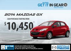 Mazda - Get the 2014 Mazda2 GX for $10,450