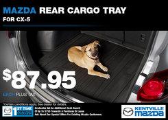 Mazda - Kentville Mazda Rear Cargo Tray