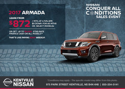 Nissan - Save on the All-New 2017 Nissan Armada Now!