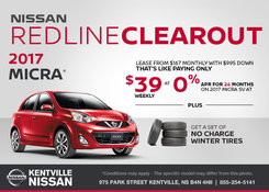 Nissan - Save on the 2017 Nissan Micra Today