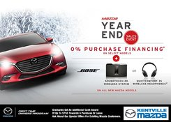 Mazda - Mazda Year End Sales Event