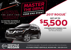 Nissan - Save on the 2017 Nissan Rogue