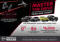 Nissan - Master the Drive Year End Event