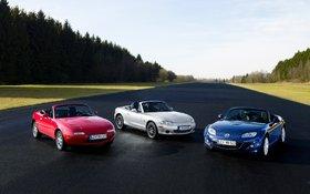 Mazda MX-5 : Une première étape de 25 ans