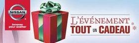 L'Événement Tout Un Cadeau chez Alma Nissan et L'Ami Junior Nissan !