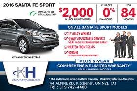 Get the 2016 Hyundai Santa Fe Sport!