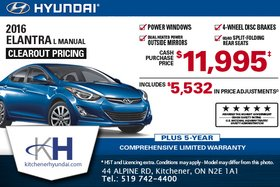 Get the New 2016 Hyundai Elantra!