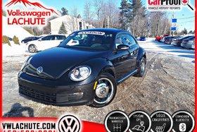 Volkswagen Beetle CLASSIC + 5 VITESSES + NAVIGATION + 1 PROPRIO + 2015