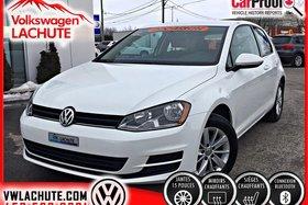 2015 Volkswagen Golf TRENDLINE + MAGS + A/C + SIÈGES CHAUFFANTS +