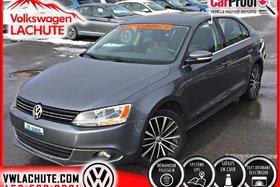 Volkswagen Jetta HIGHLINE + NAV + TOIT + CUIR + MAGS 17 PO. + 2014