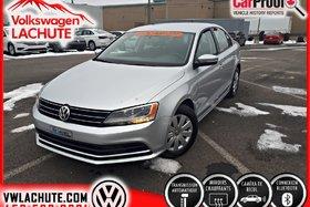 2015 Volkswagen Jetta TRENDLINE PLUS + AIR + CAMÉRA DE RECUL + CRUISE +