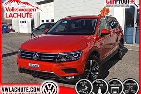 Volkswagen Tiguan HIGHLINE + 8 PNEUS INCLUS + AIDE À LA CONDUITE + 2018