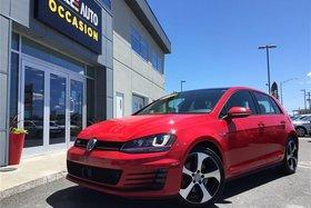 Volkswagen Golf GTI GTI**CRUIS ADAPTATIF,SENSOR,FENDER,SHIF** 2016