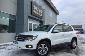 Volkswagen Tiguan 2.0TSI TL**AWD,ÉCRAN TACTILE,BLUETOOTH,ETC** 2015