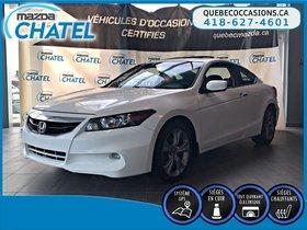 Honda Accord Cpe EX-L - CUIR - TOIT OUVRANT - GPS 2012