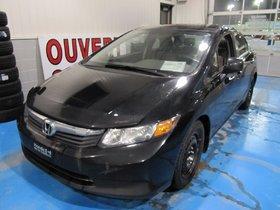 Honda Civic Sdn LX 2012 **TRÈS ÉCONOMIQUE**