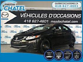 Honda Civic Sedan EX - TOIT OUVRANT - CAMÉRA - SIEGES CHAUFFANTS 2014