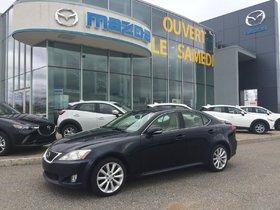 Lexus IS 250 (AUTO AWD A/C FULL) 2010 **PRIX DE LIQUIDATION**
