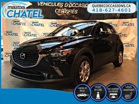 Mazda CX-3 GS-L - CUIR - TOIT OUVRANT - SIEGES CHAUFFANTS 2016 **GARANTIE COMPLETE MAZDA JUSQU'EN AOUT 2019**
