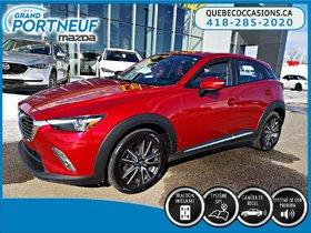 Mazda CX-3 GT- ROUES ET PNEUS HIVER INCLUS - 4RM 2016