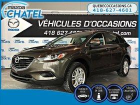 Mazda CX-9 GS-L AWD - CUIR - TOIT OUVRANT - SIEGES CHAUFFANTS 2015 **GARANTIE PROLONGÉE MAZDA INCLUSE**