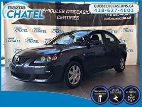 Mazda Mazda3 GX - AUTO - A/C 2006 **TRES BAS KILOMÉTRAGE**