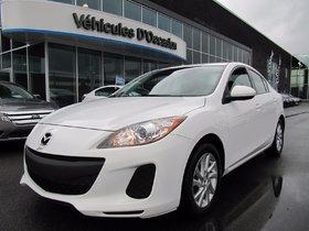 Mazda Mazda3 GX (AUTO A/C À PARTIR DE 0.9%) 2012 **NOUVEAU PRIX**