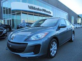 Mazda Mazda3 GS-SKY (MANUELLE A/C TOIT OUVRANT) 2012 **GARANTIE PROLONGÉE MAZDA**